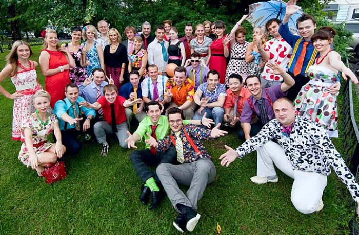 Вечеринка в стиле: СССР, Стиляги, Гангстеры